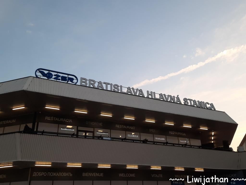 Hauptbahnhof Bratislava