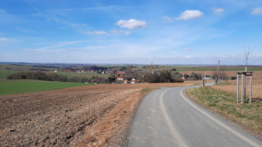 Blick auf Herzogswalde