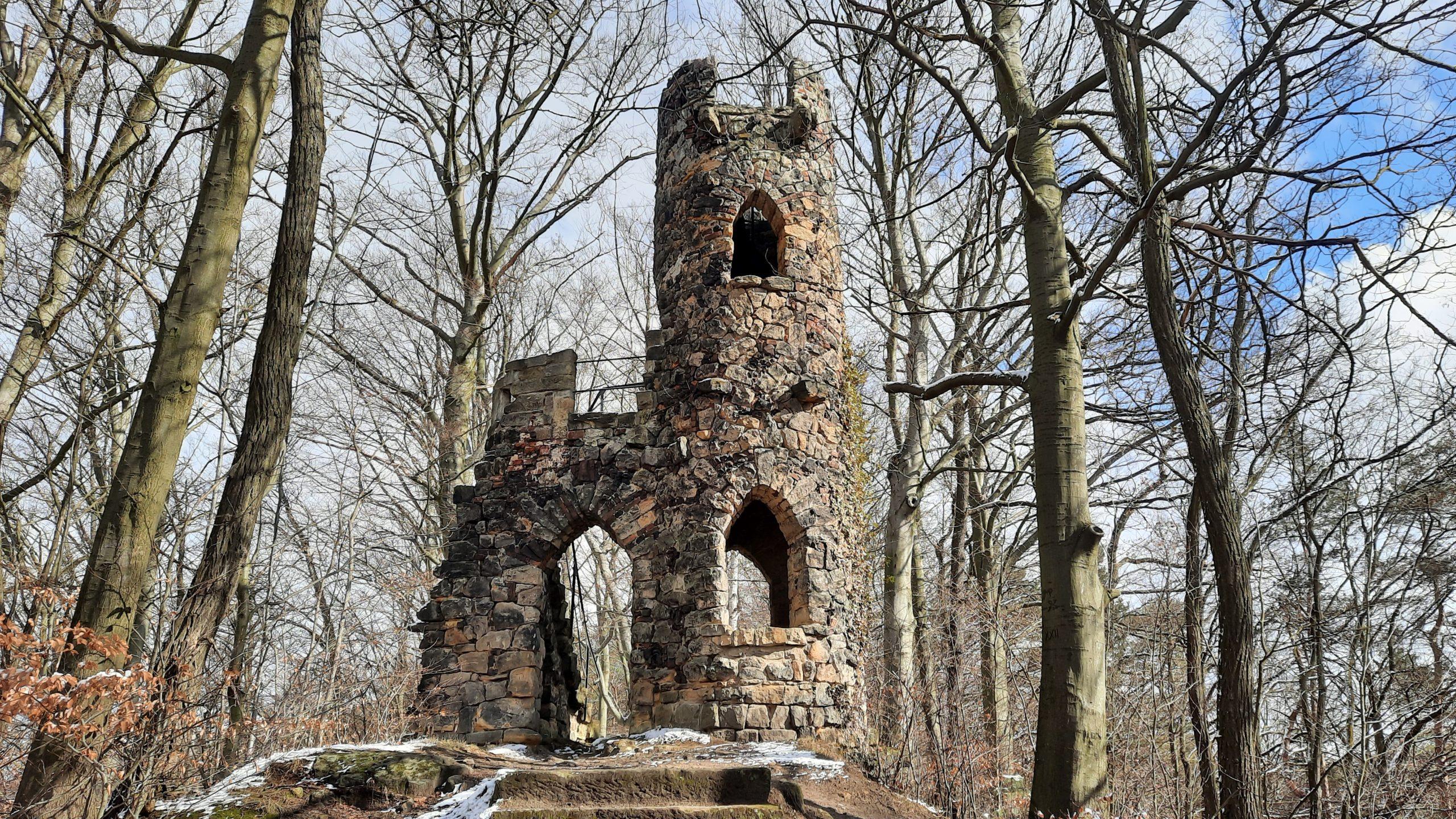 Schlossruine Schomberg - am 60 km Wochenende - at 60 km weekend