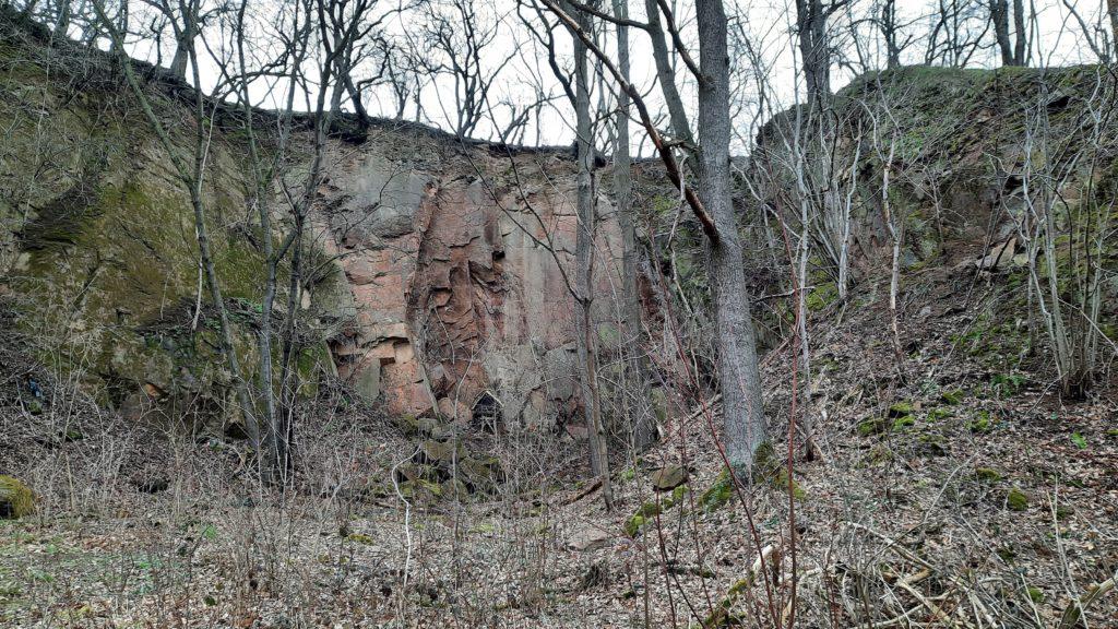 Steinbruch am Poetenweg