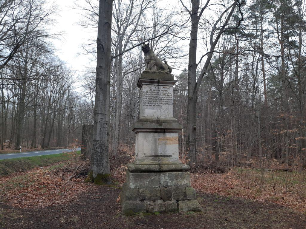 Wolfssäule Laußnitzer Heide